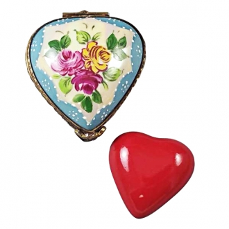 YELLOW & BLUE HEART W/ REMOVABLE RED HEART