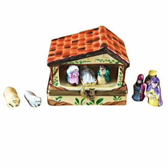 MANGER W/8 REMOVABLE PIECES
