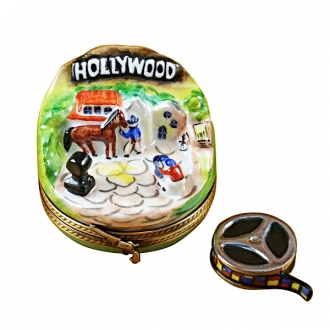 Hollywood with removable movie reel