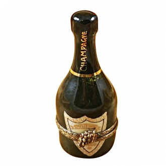 Green Champagne Bottle