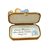 Archie Harrison Mountbatten-Windsor Sleeping-Includes Plaque And Pacifier