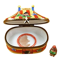 CIRCUS TENT Limoges box