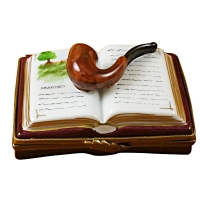 PIPE ON BOOK