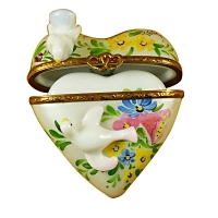 Heart w/two doves