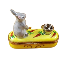 RABBIT WITH BOWL