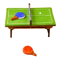 GREEN PING PONG TABLE