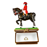 Horse with rider - dressage