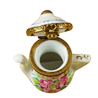 FLOWERY TEA POT