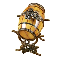 WINE BARREL ON STAND