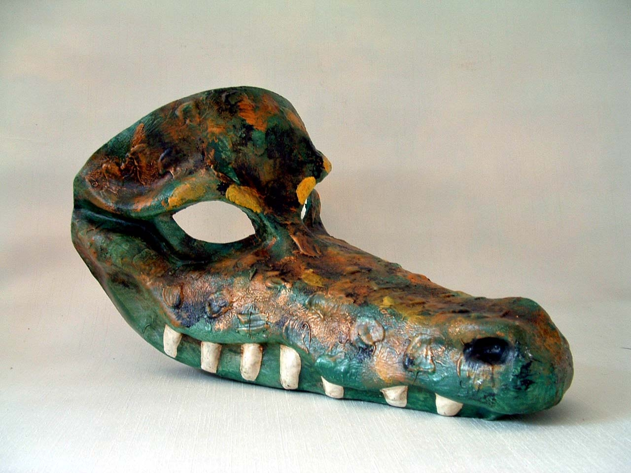 Crocodile Venetian Mask