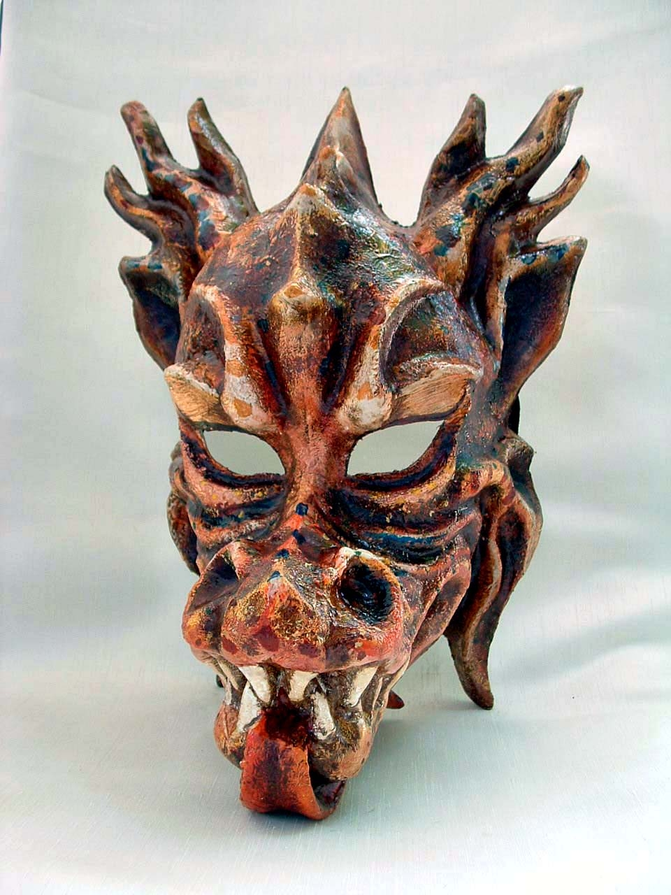 Dragon Grande Venetian Mask