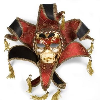 Venetian Guidecca Lame Mask