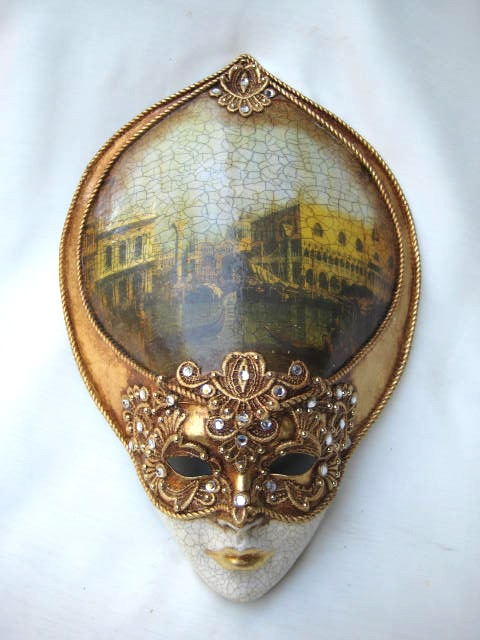 Decoupage large oval