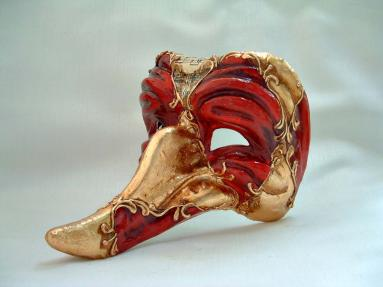 Zanni Batocchio Red/Gold