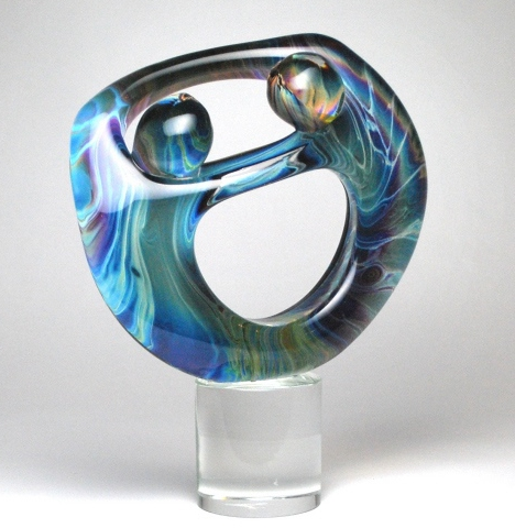 LOVERS TROCHAL - MURANO GLASS