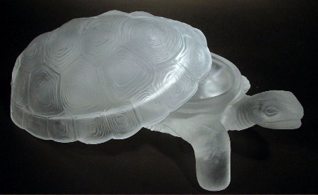 Frosted Crystal Turtle