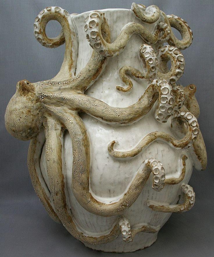 Giant Octopus Vase World Art Glass Decor Murano Glass Gifts Co