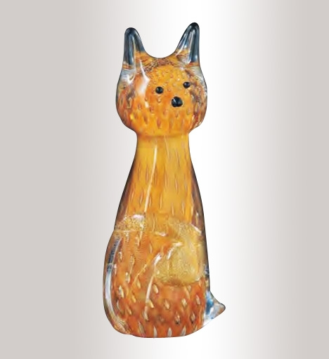 Murano Glass Cat Colorfull Assortment