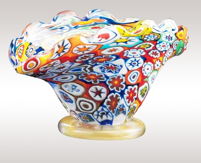 Murrine Glass Bowl