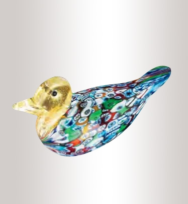 Murrine Glass Duck