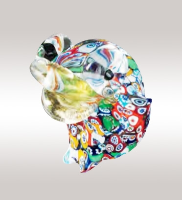 Murrine Glass Frog