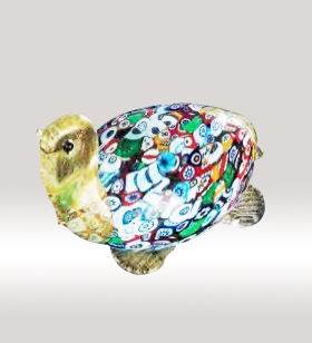 Murrine Glass Turtle