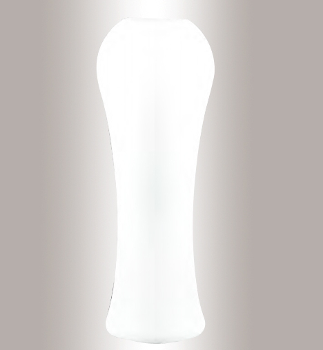 Murano Glass White Vase Large