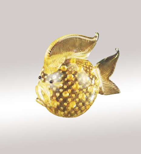 Murano Glass Gold Fish