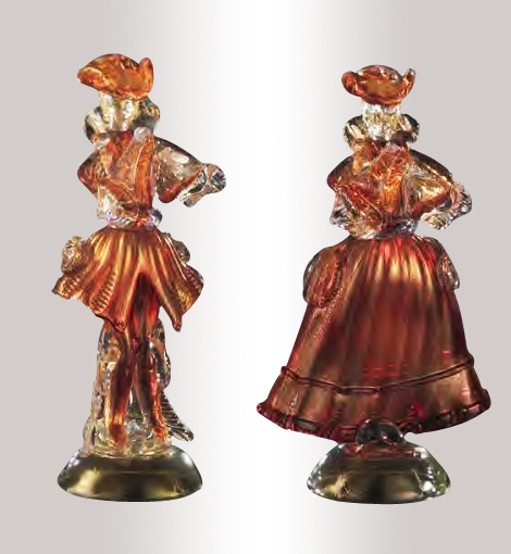Murano Glass Figurines Colorfull Assortment