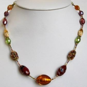Glamor Multicolor Necklace (Short)