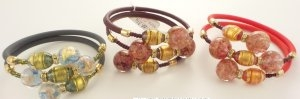 Murano Glass Bracelet Multi colored