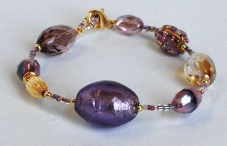 Glamor Purple Bracelet