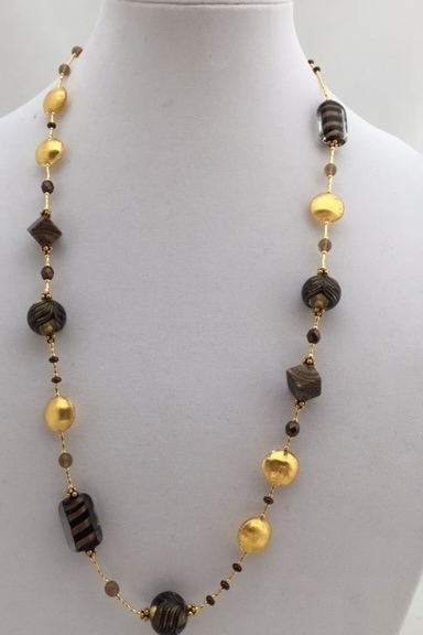 Beads murano glass fenicio necklace