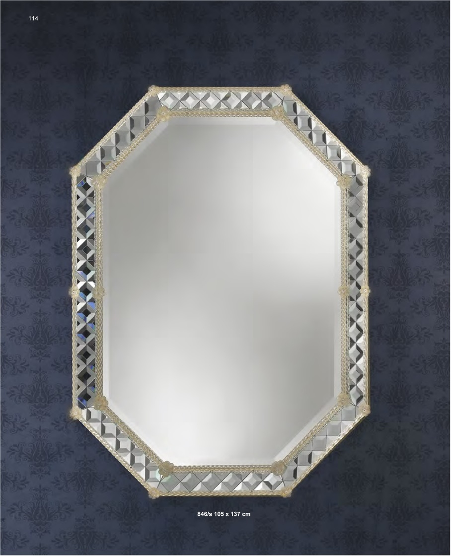 Murano Glass Mirror