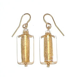 San Remo Earrings Gold