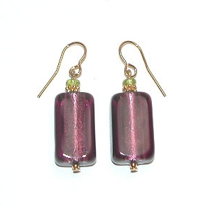 San Remo Earrings Amethyst