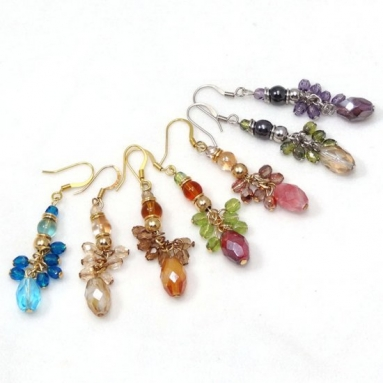 Earrings Multi colred