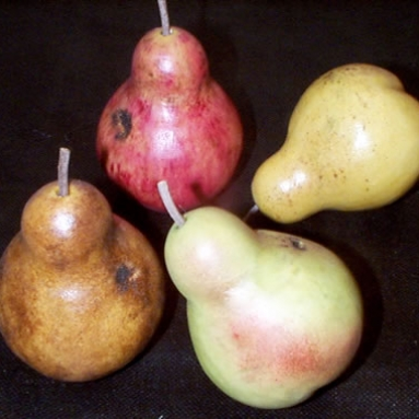 Antiqued Pears