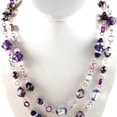 Sparkle Necklace - Amethyst