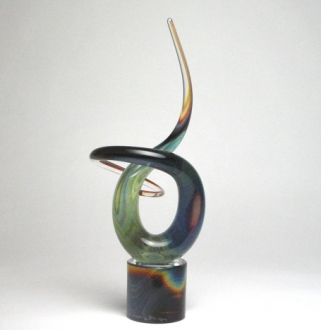 Calcedony Twist Sculpture