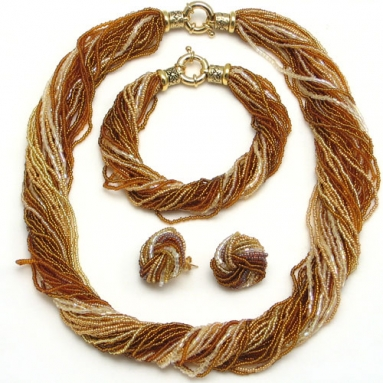 Ricciolo Amber Necklace