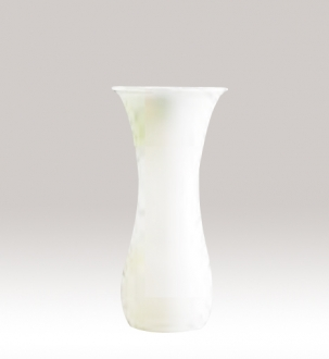 Murano Glass White Vase