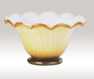 Murano Glass Gold Bowl