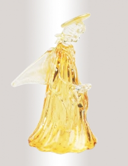Murano Glass Amber/Gold Angel