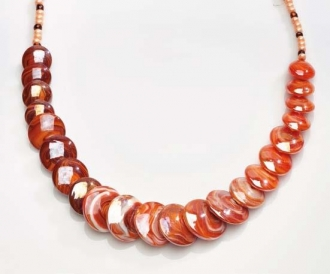 Magic Murano Glass Necklace Red