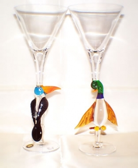 Duck and Toucan Goblet
