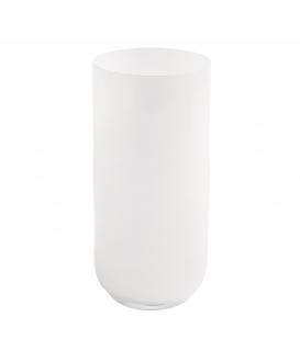 Set of 6 White Water Tumblers, Fills 14 oz.