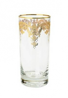 Tumblers with 24k Gold Artwork-Set/6