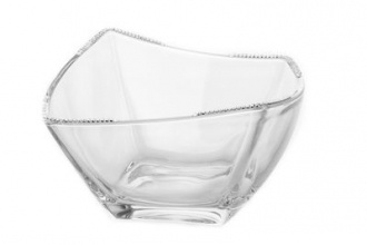 CBS607-Square Bowl Swarovski Crystal