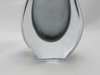 Murano Glass Gray Vase